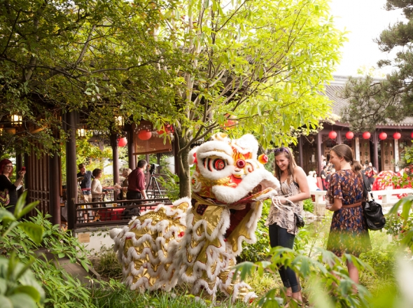 rent the garden - Lan Su Chinese Garden