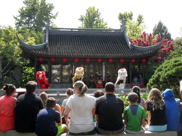 Autumn Moon Festival - Lan Su Chinese Garden