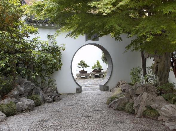 rightleft - Chinese Garden Portland