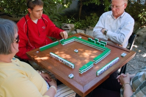 Mahjong - Lan Su Chinese Garden