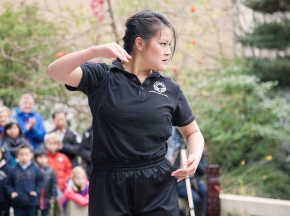 Chinese New Year Martial Arts Performance - Lan Su Chinese Garden