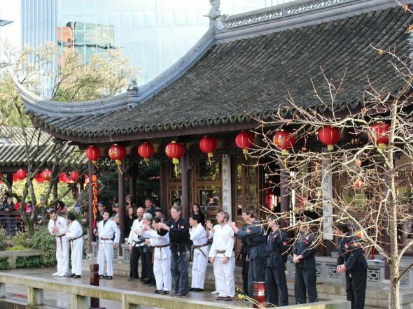 Lansu shaolin center