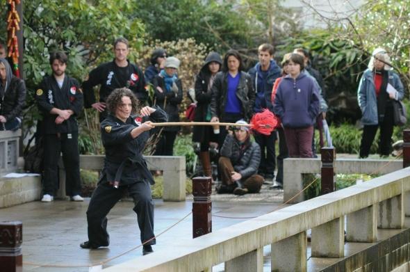 Portland Shaolin Center at Lan Su Chinese Garden