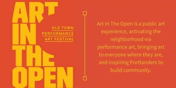 Art in the Open - Old Town Performance Art Festival