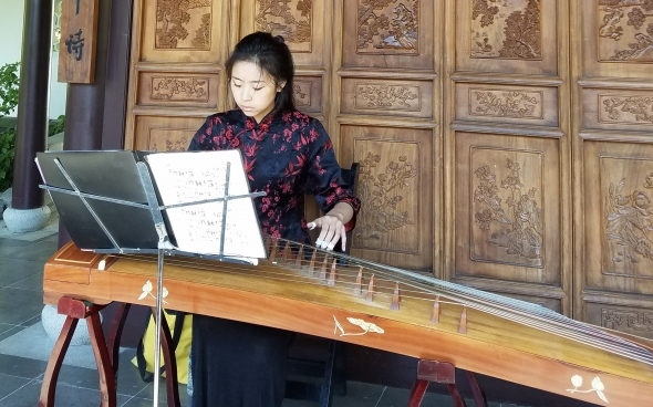 Stephanie Chen - Lan Su Chinese Garden