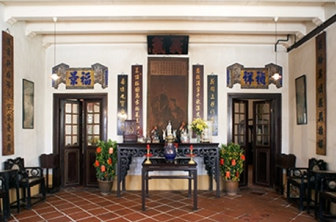 Tan Chenglong Interior Malacca, Malaysia - Chinese Houses of Southeast Asia: The Eclectic Architecture of Sojourners and Settlers by Ronald G. Knapp