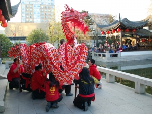 Dragon Procession - Lan Su Chinese Garden