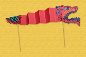 Family Craft Activity: Make a Chinese New Year Dragon Puppet with The International School